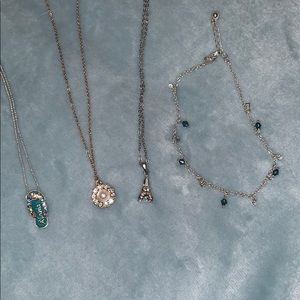 Necklace and Anklet Bundle